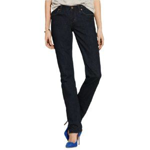 Madewell Rail Straight Jean in Rinse in Blue